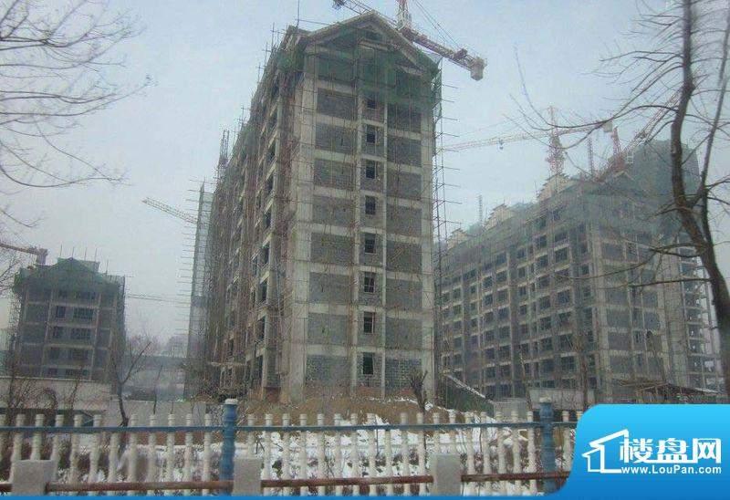 格林小镇三期工程进度实景图201112