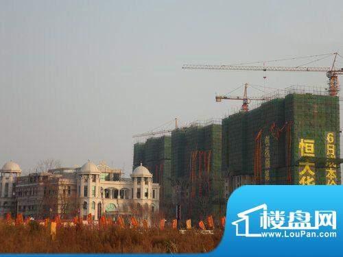 抚顺·恒大华府项目实景图2011.10