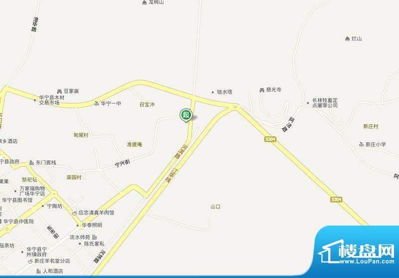 华城盛景·宁秀苑交通图