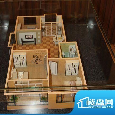 盛世华庭Q户型3室2厅面积:115.00平米