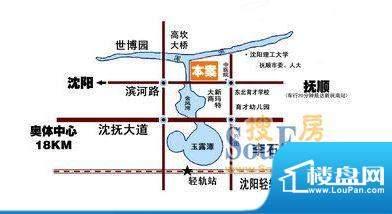 盛龙国际交通图