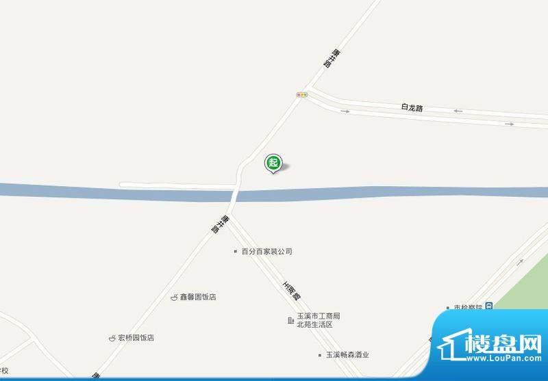 兰溪瑞园交通图