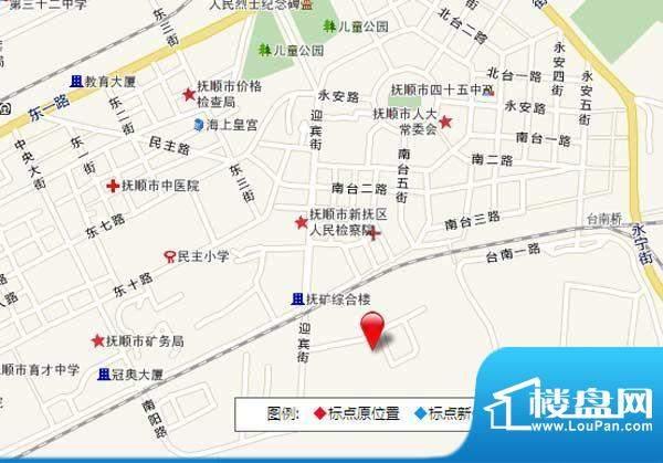 抚顺万达广场交通图
