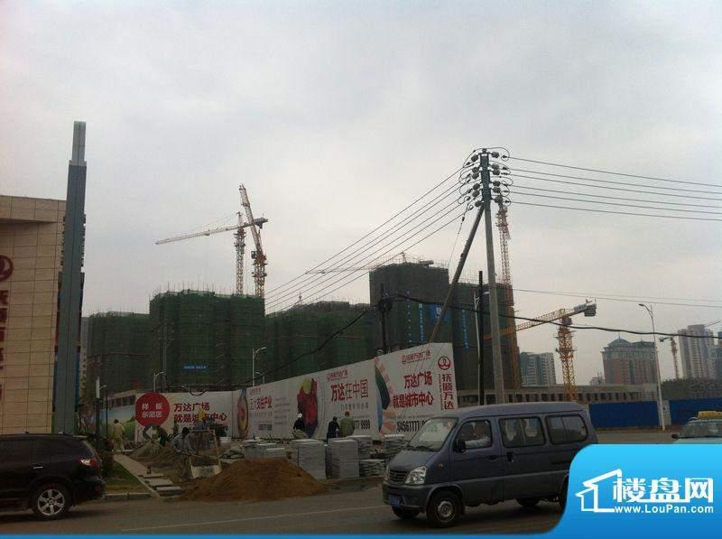 抚顺万达广场工程进度实景图2012.05.12