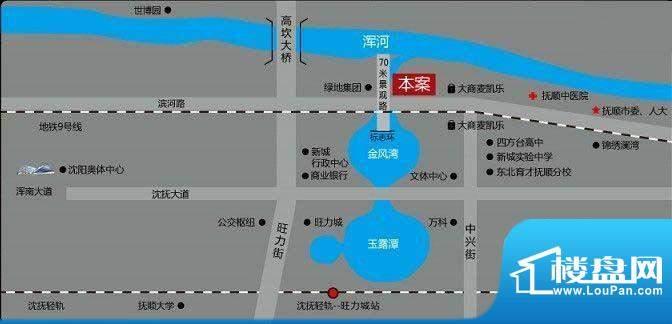鼎峰国际交通图