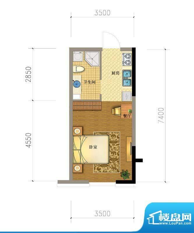 澳海澜庭16#户型图 面积:0.00平米