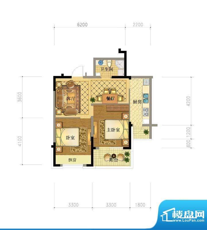 澳海澜庭15#户型图 面积:0.00平米