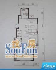 金鼎世纪城2室2厅1卫面积:72.01平米