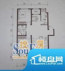 金鼎世纪城2室2厅1卫面积:86.31平米