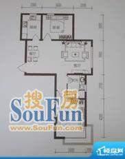 金鼎世纪城2室2厅1卫面积:88.99平米
