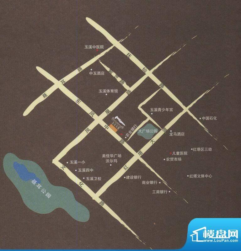 东安大厦交通图