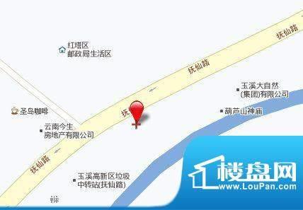 枫林溪谷交通图