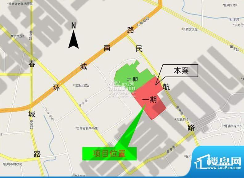 香樟俊园交通图