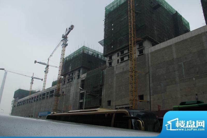 天朗国际广场工程进度实景图2012.04
