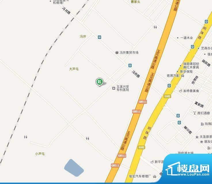 西舞公寓交通图