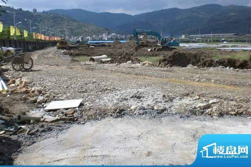 苏云鑫海国际项目地块实景(2010.10)