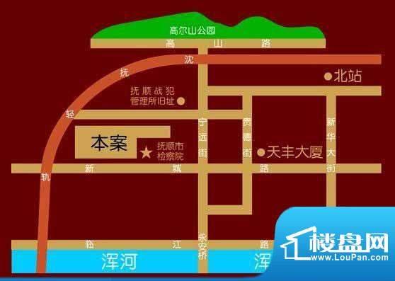 新城壹品交通图