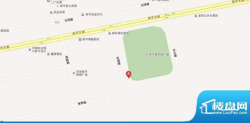 凤凰夏苑交通图