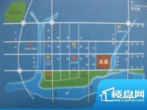 新湖国际花园交通图
