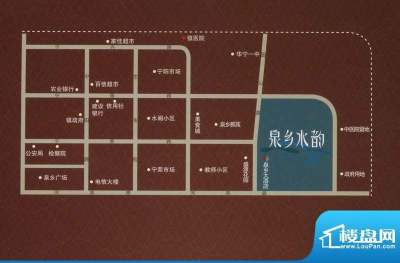 泉乡水韵交通图