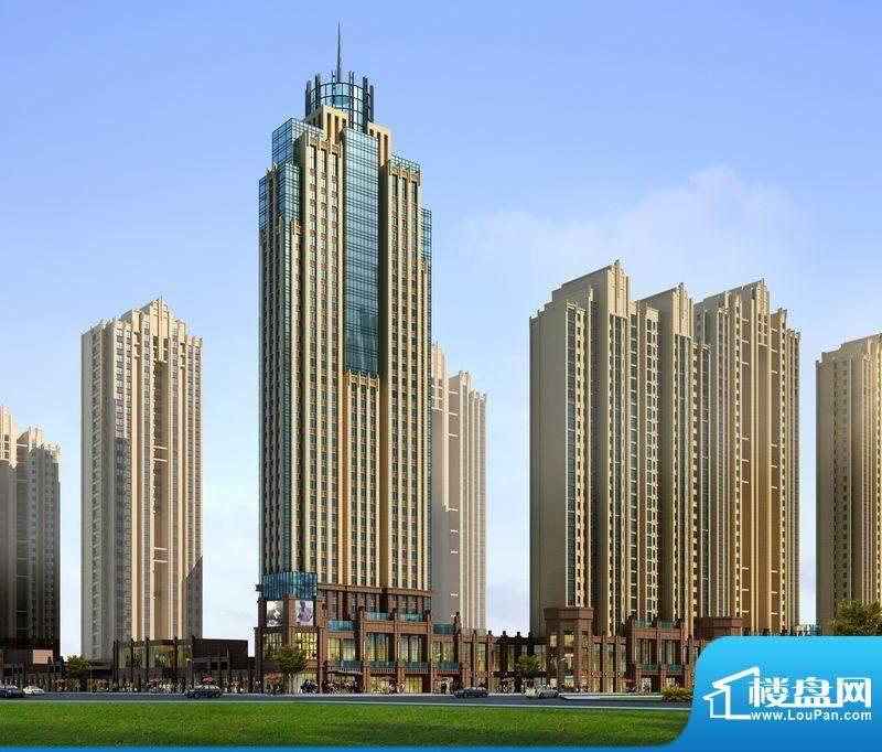 中国水电·海赋外滩浑河南路商高楼单体