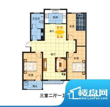 嘉诚名居户型图 面积:0.00m平米