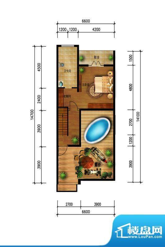 观澜墅水岸香榭三层面积:0.00m平米
