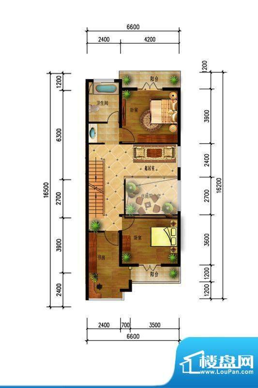 观澜墅水岸香榭二层面积:0.00m平米