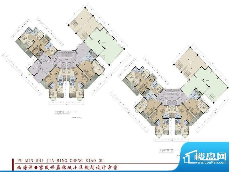 世嘉铭城22-B栋一二面积:0.00平米