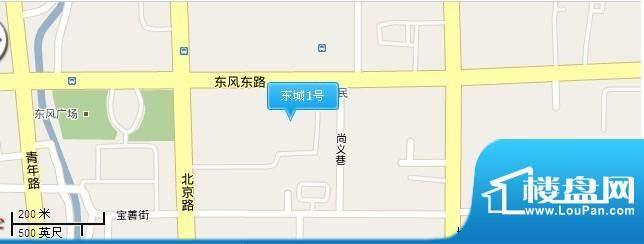 东城1号交通图