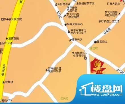 龙门新景交通图