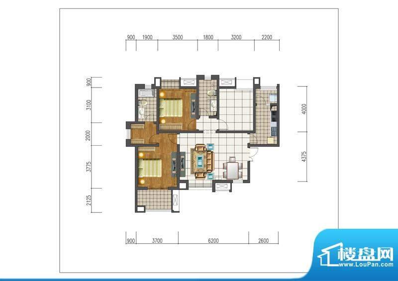 新晋世家A06-M01-A-面积:0.00m平米