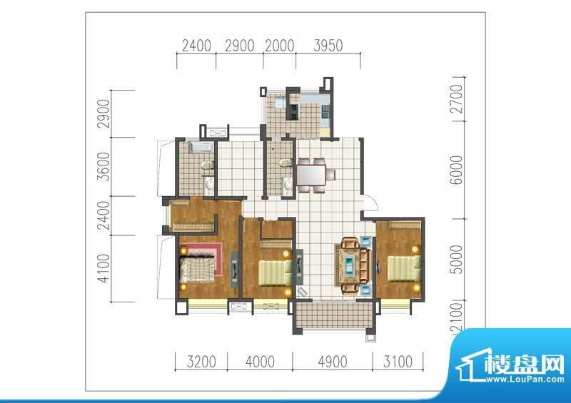 新晋世家A17-M01-Mo面积:0.00m平米