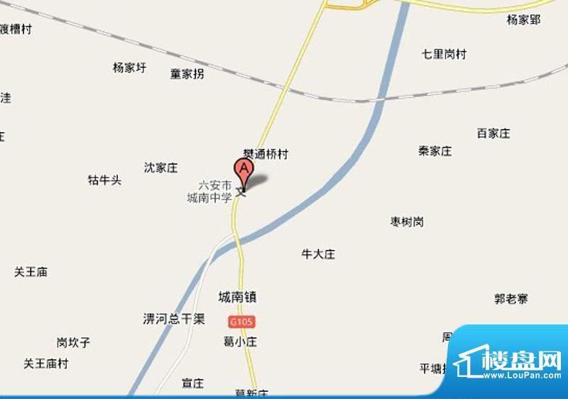南河佳苑交通图