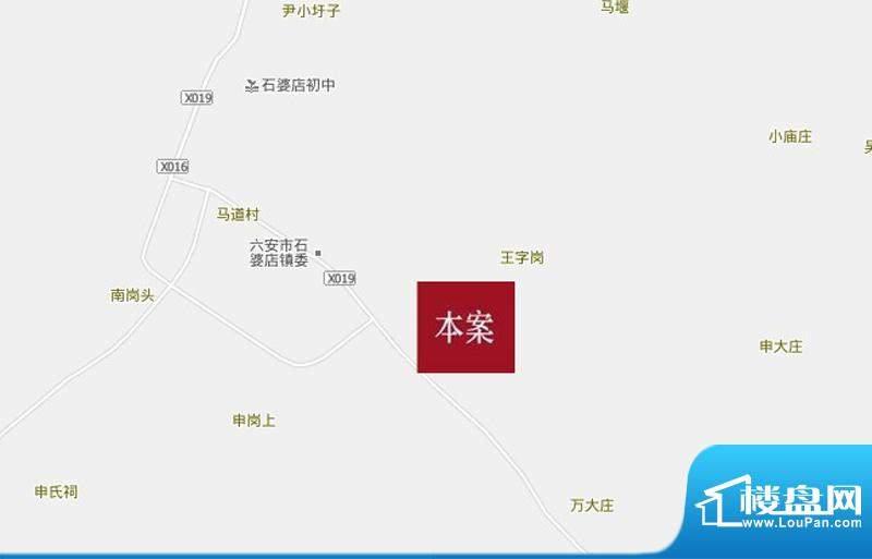 清华家园交通图
