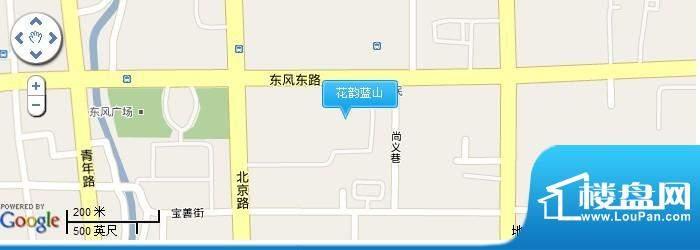 花韵蓝山交通图