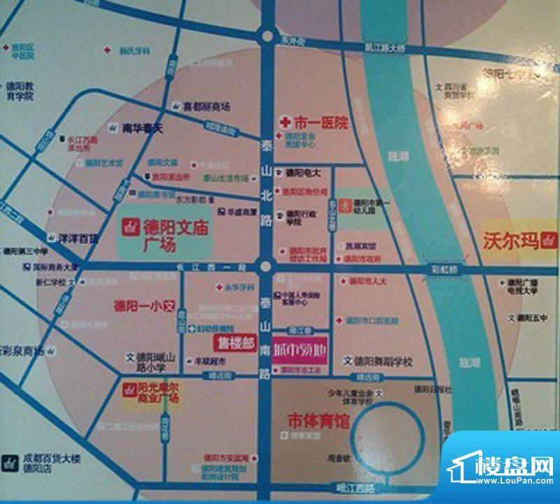 华伦·城市领地交通图