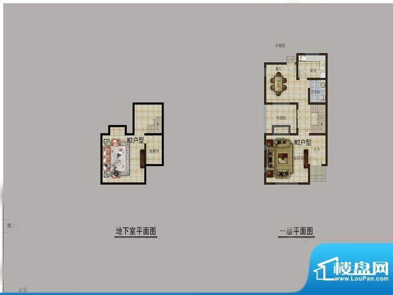 大理感通别墅剑苑w2面积:177.00m平米