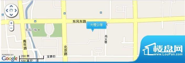 大理公馆交通图