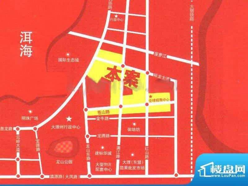 五洲国际商贸城交通图