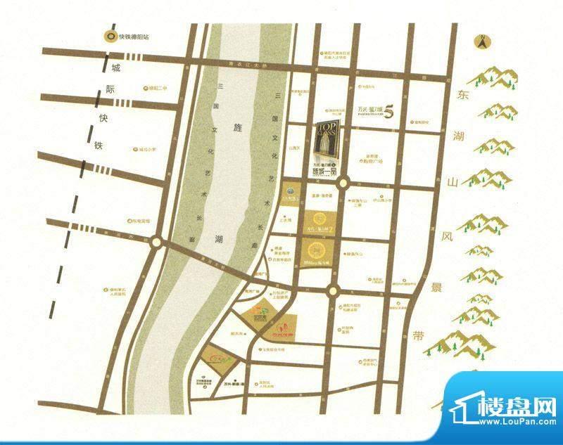 旌城一品交通图