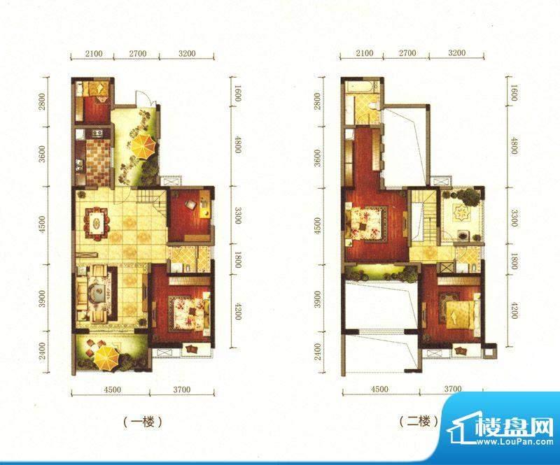 旌城一品K户型图 5室面积:184.52平米