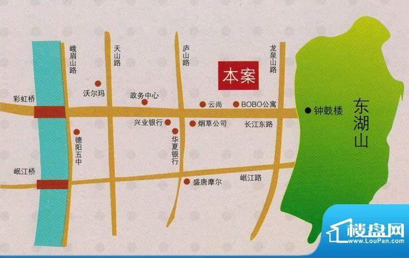 友山公馆交通图