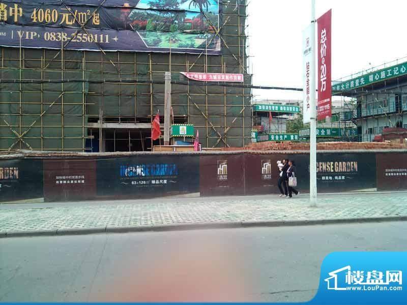 鑫恒香廷外景图(2012-04-18)
