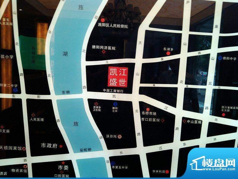 凯江盛世交通图