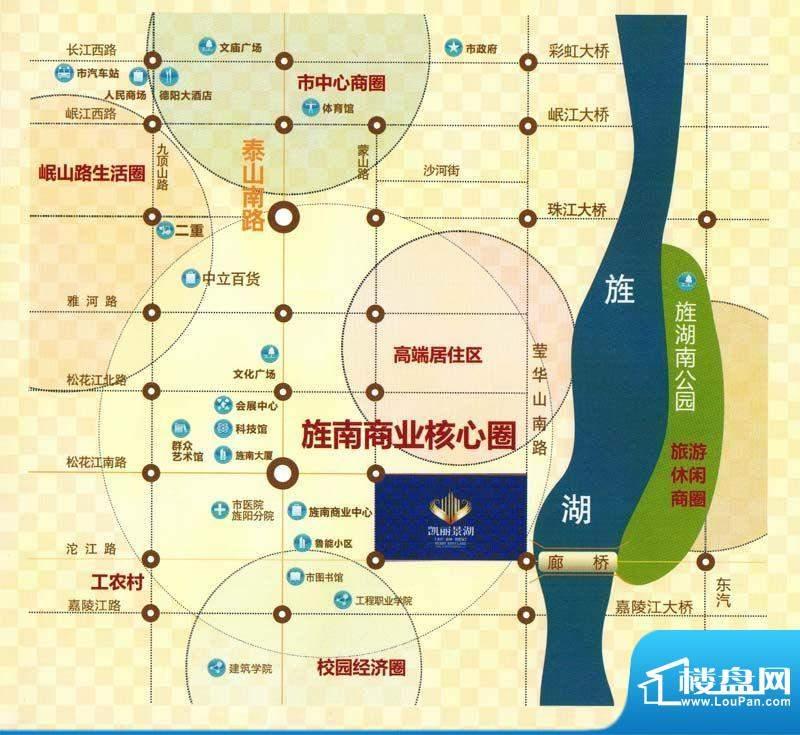 凯丽景湖三期交通图