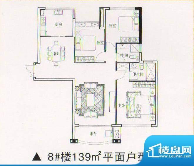 乾坤豪府2 3室2厅2卫面积:0.00m平米