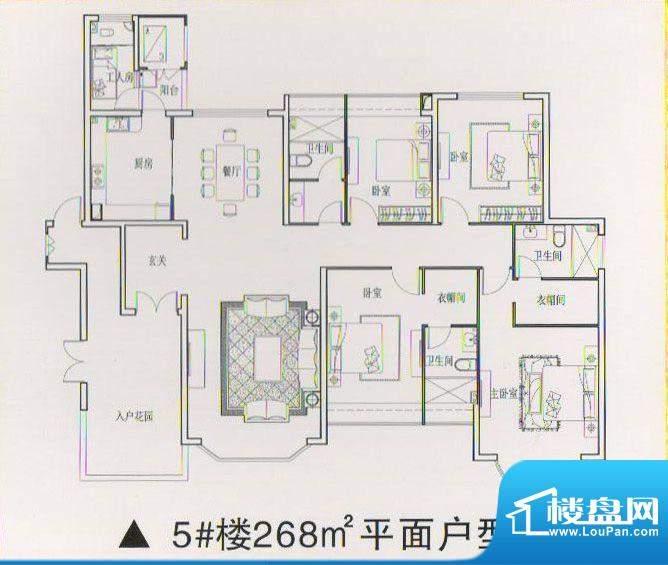 乾坤豪府3 4室2厅2卫面积:0.00m平米