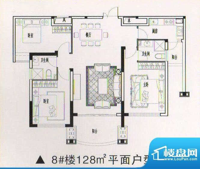 乾坤豪府4 3室2厅2卫面积:0.00m平米