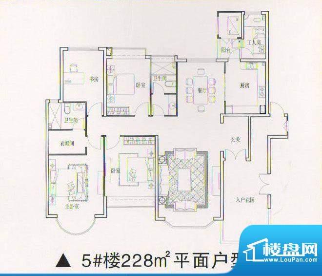 乾坤豪府5 4室2厅2卫面积:0.00m平米